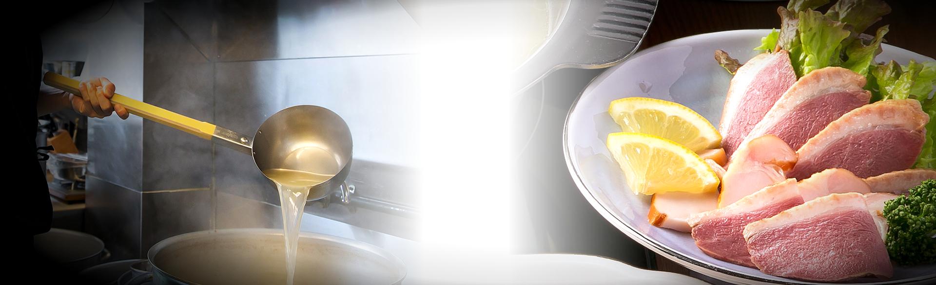 スモークチキン/スープへのこだわり