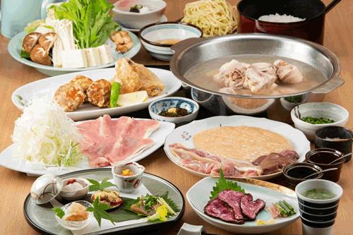 水炊き濱田屋本店コース 5,280円(税込)